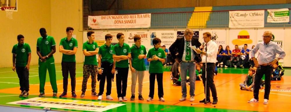 Gruppo settore giovanile Under 14 - Under 15 e Under 18